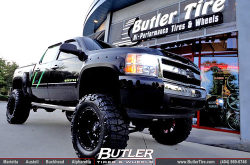 Rims For Chevy Truck Monster Energy Chevy Silverado with 20x12 Fuel Hostage Wheels 38in ...