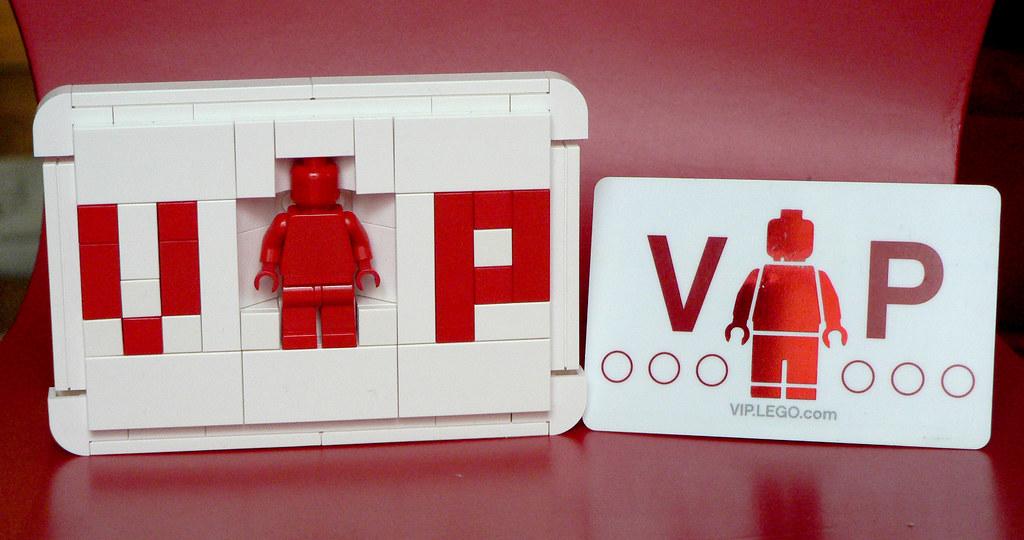 LEGO VIP card vs VIP card | JéRôMe | Flickr