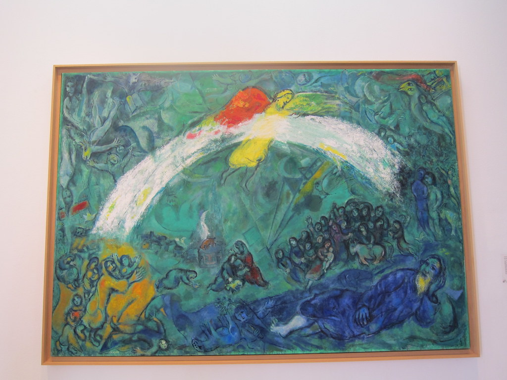 Noah And The Rainbow Collection Of Marc Chagall Museum Flickr