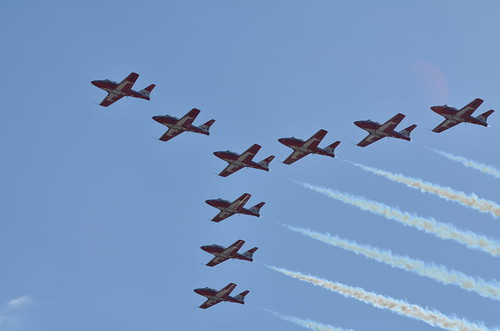 Canadian Snowbirds | by shotup