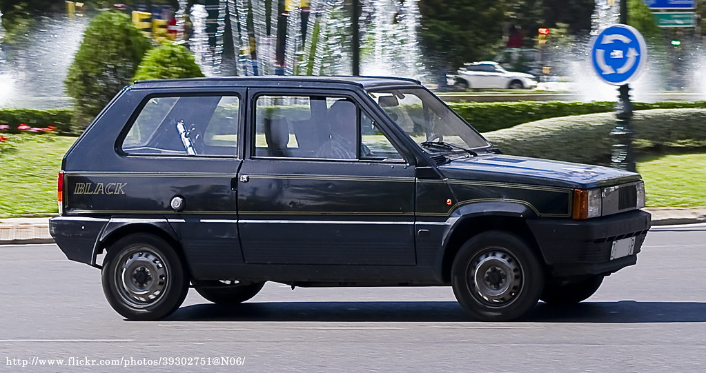 1982 Seat Panda 40 Black | Spanish Coches | Flickr