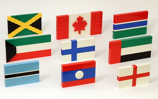 Flags of the World - Set 1 | by JK Brickworks