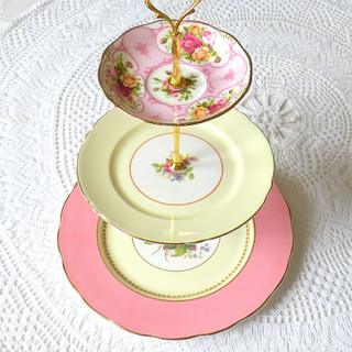 Tiered Cake Stand Diy