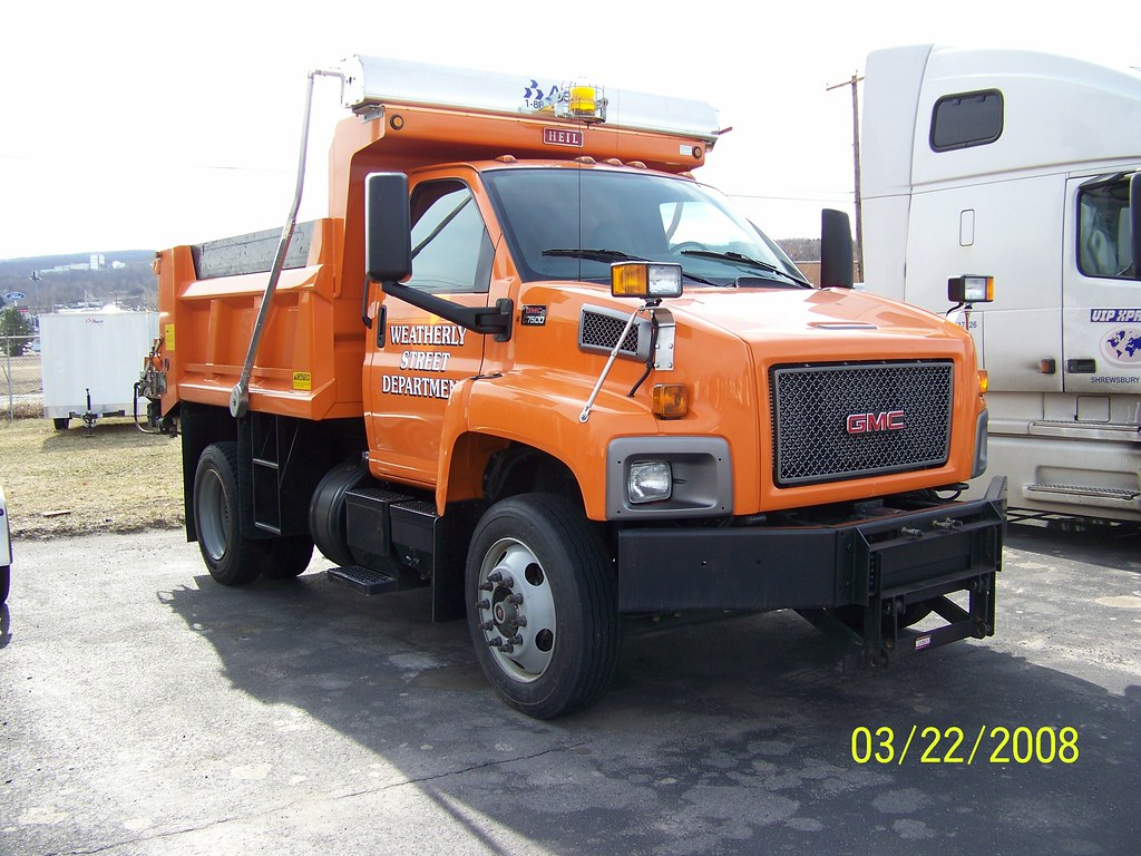 Gmc C7500 Plow Truck | Trucks, Buses, & Trains by ...