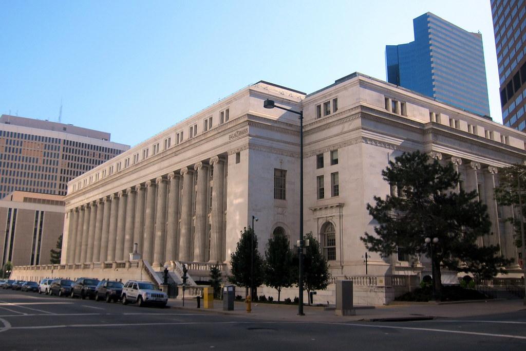 Denver Cbd Byron White United States Courthouse Flickr