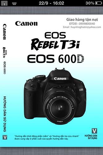 Canon EOS 600D | Hướng dẫn sử dụng tiếng việt máy ảnh