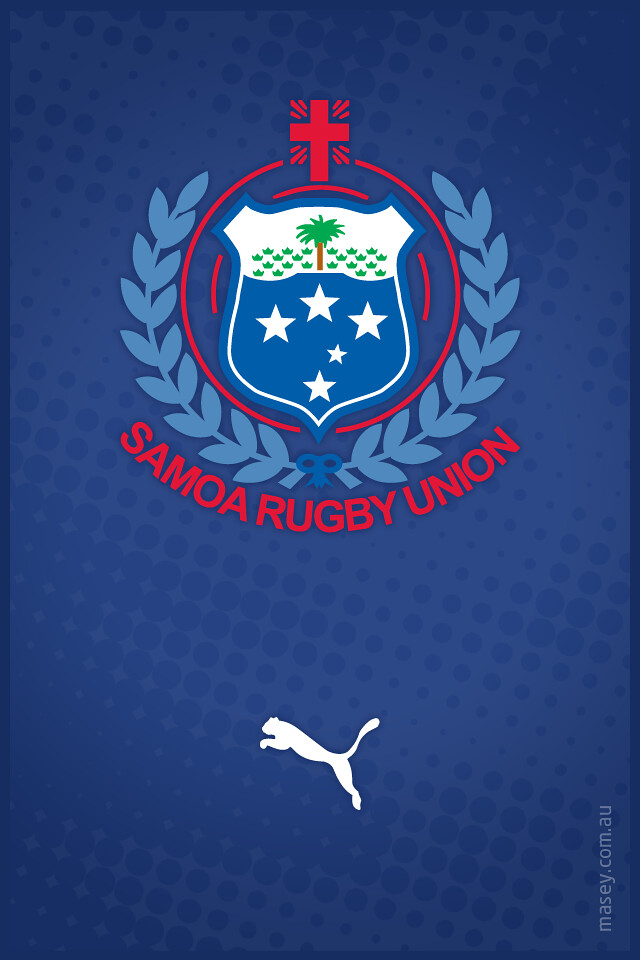 ... Samoa Rugby iPhone Wallpaper | by Rob Masefield (masey.co)