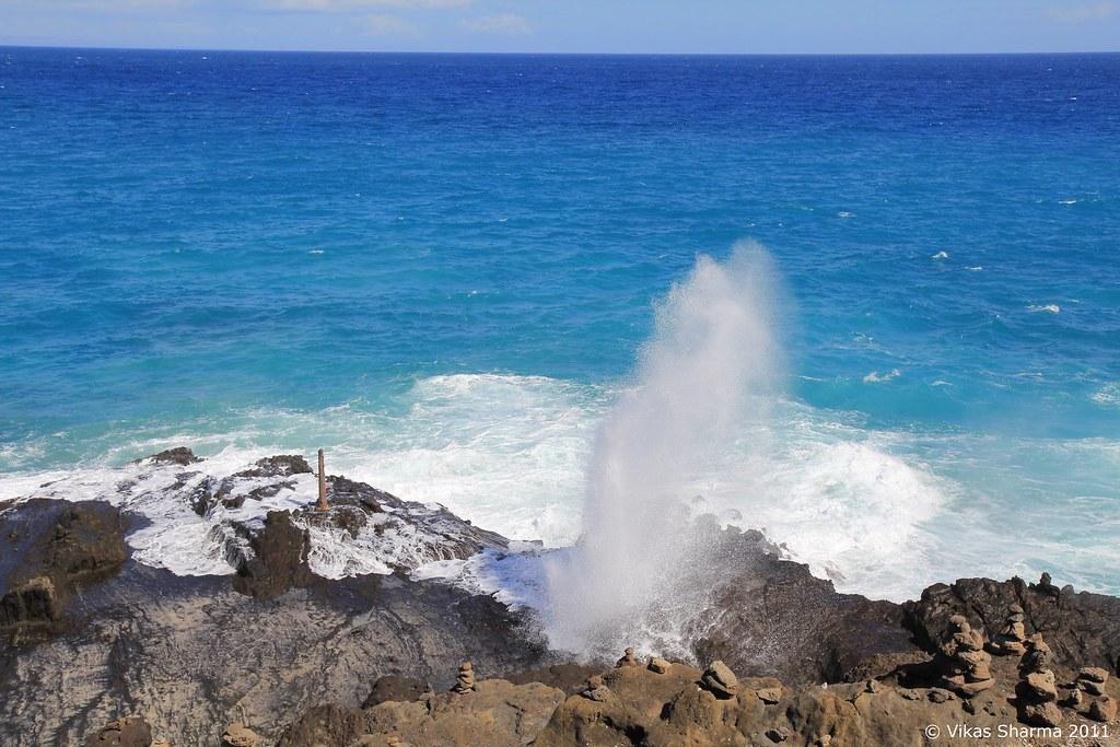 Halona Blowhole Lookout Oahu Hawaii Vikas Sharma Flickr