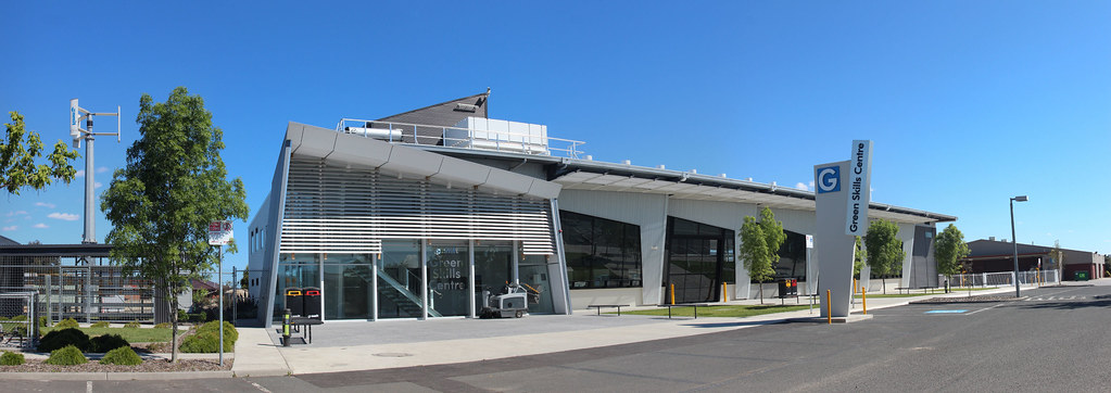 Melbourne Polytechnic Green Skills Centre At Epping Panora