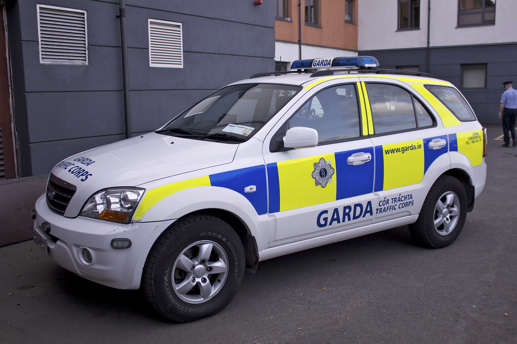Garda Kia Sorento Blanchardstown Garda Station Open Day