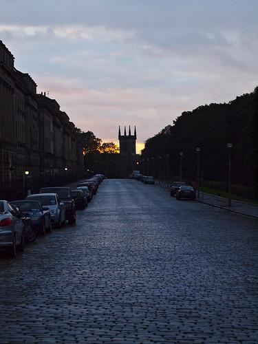 Royal terrace at dusk edinburgh johnson cameraface for Terrace johnson