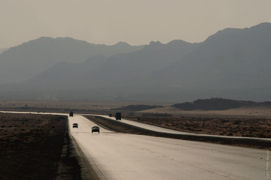 c2985ed2f01 ... Road in Wadi Rum Desert