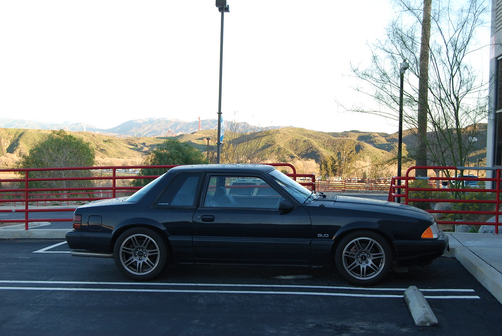 Ford Mustang 5 0 Lx Foxbody Coupe With 10th Anniversary Sv