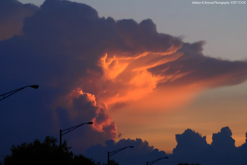 Sunlit Underside of Thunderstorm Cloud Anvil. *Explored* | by Infinity & Beyond Photography