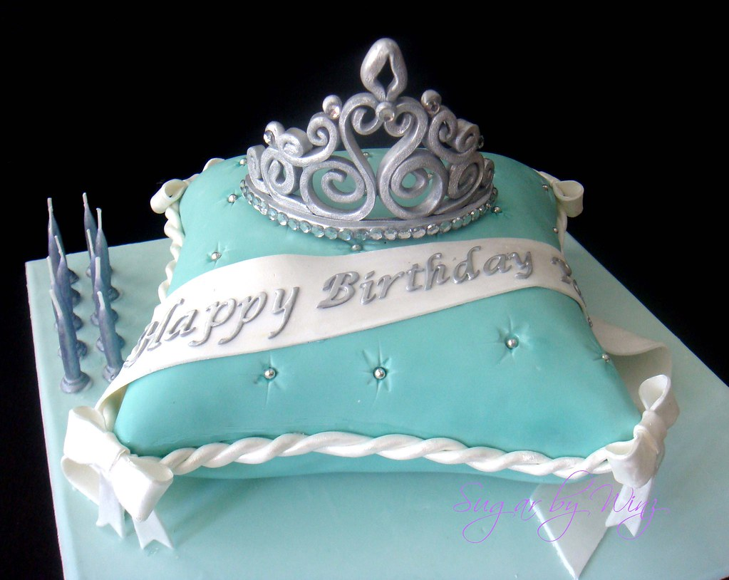 Pillow Birthday Cake