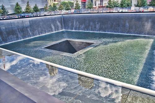 The reflecting pool at 9 11 memorial ground zero 6 flickr - Ground zero pools ...