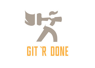 Git 'R Done Logo Design | by victor sarabia