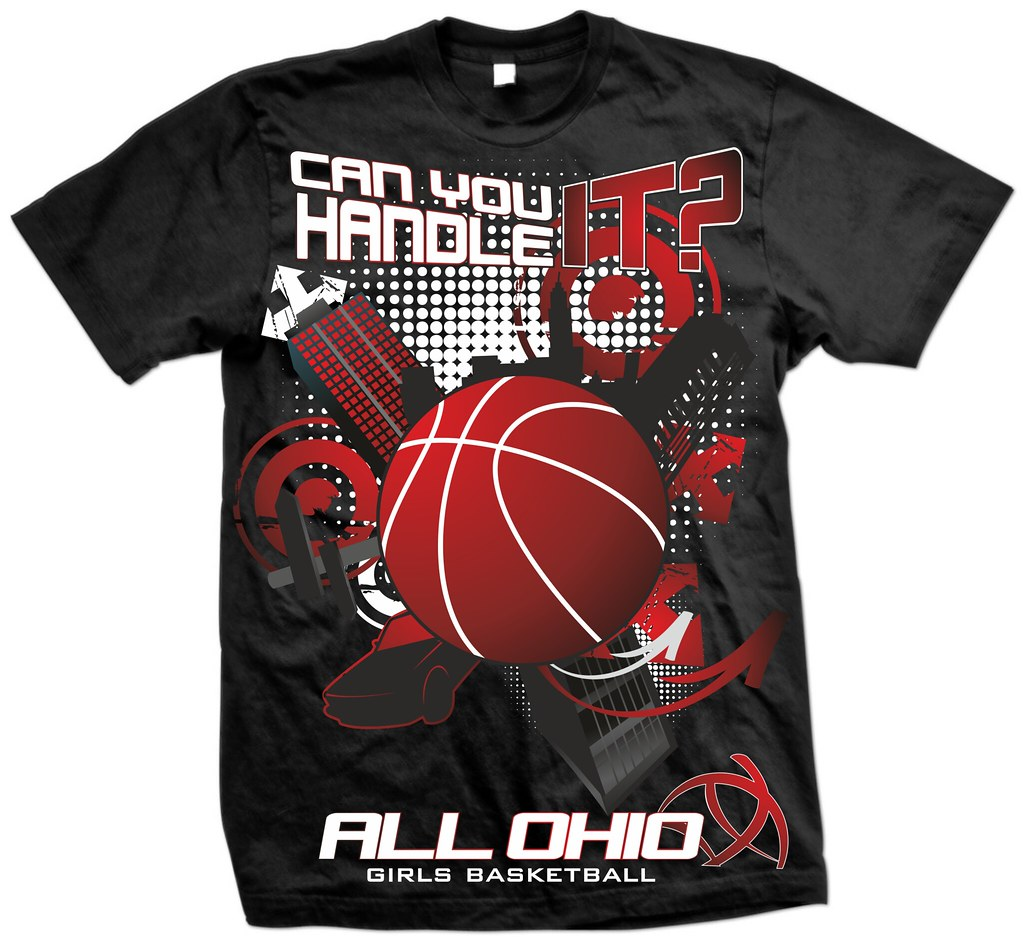 T-shirt design- All Ohio Girls Basketball | We are an ...