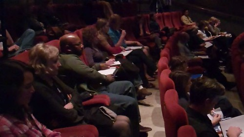 Delegates taking notes | by VIFFest