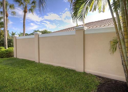 Precast Concrete Fence Wall Sarasota Florida Texas 2 Flickr