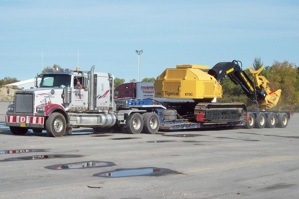 Western Hauler Bed >> Williams 38 Western Star heavy hauler truck with 4 axle fl… | Flickr