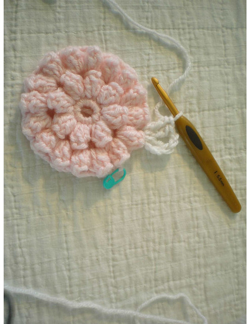 Knit Popcorn Stitch In The Round : Popcorn Stitch Afghan Square Flickr - Photo Sharing!