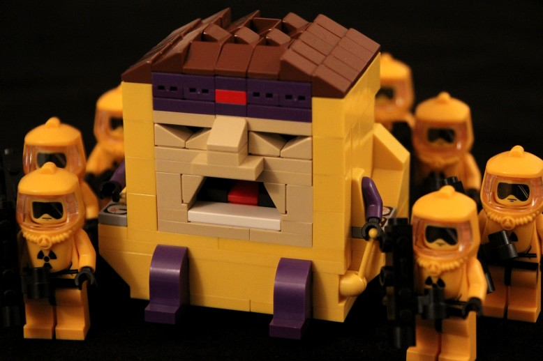 LEGO MODOK and AIM Agents | SPARKART! | Flickr