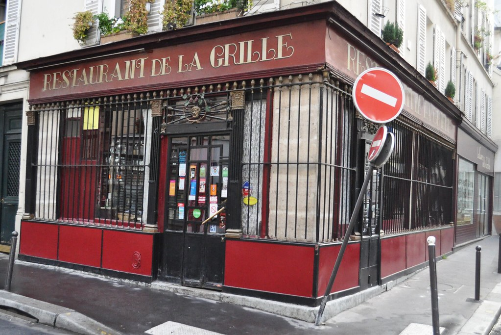 Fa ade du restaurant la grille paris 10 fa ade du restau flickr - Restaurant poisson grille paris ...