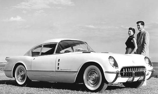 1954 Chevrolet Corvette Corvair Concept | he 1954 Chevrolet … | Flickr