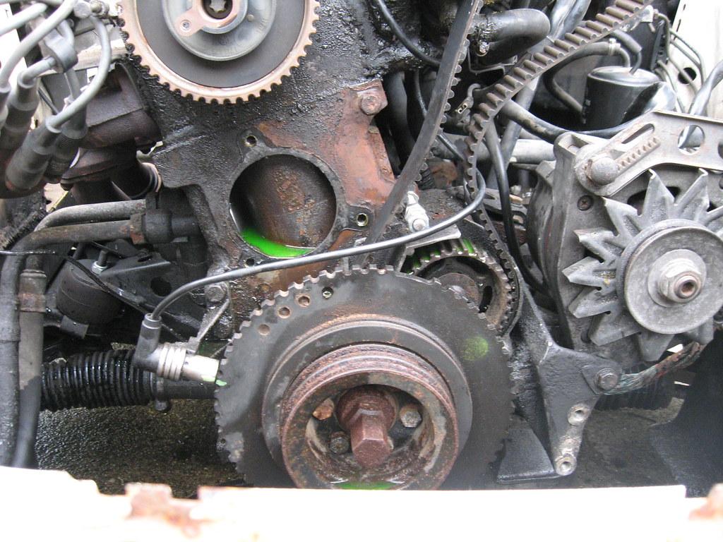 ... Started BMW E30 timing belt/water pump replacement | by mattmichielsen