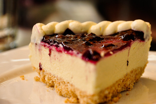 Cake Images With Name Praveen : Blueberry cheese cake Praveen Flickr