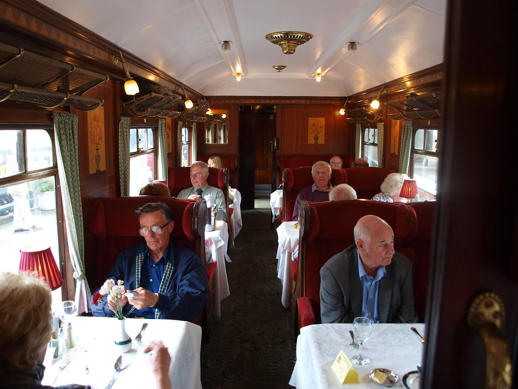 nymr dining train 19 09 2011 pullman car no 79 interior flickr. Black Bedroom Furniture Sets. Home Design Ideas