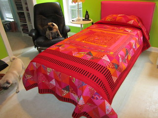 Redbed | by Melody Johnson Quilts