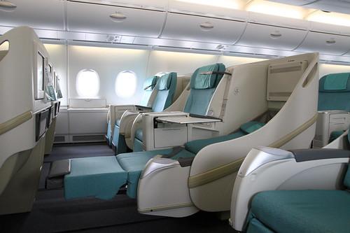 a380 prestige class 6 korean air 39 s double decker a380s. Black Bedroom Furniture Sets. Home Design Ideas