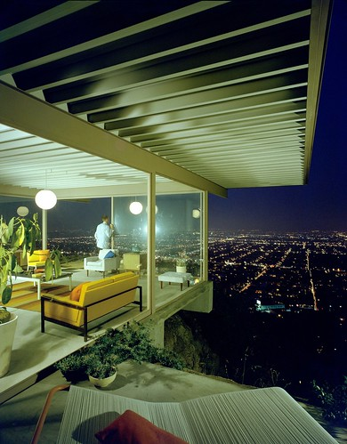 """Case Study House #22"" by Julius Shulman (1960) 