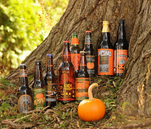 Pumpkin Beers | by katbaro
