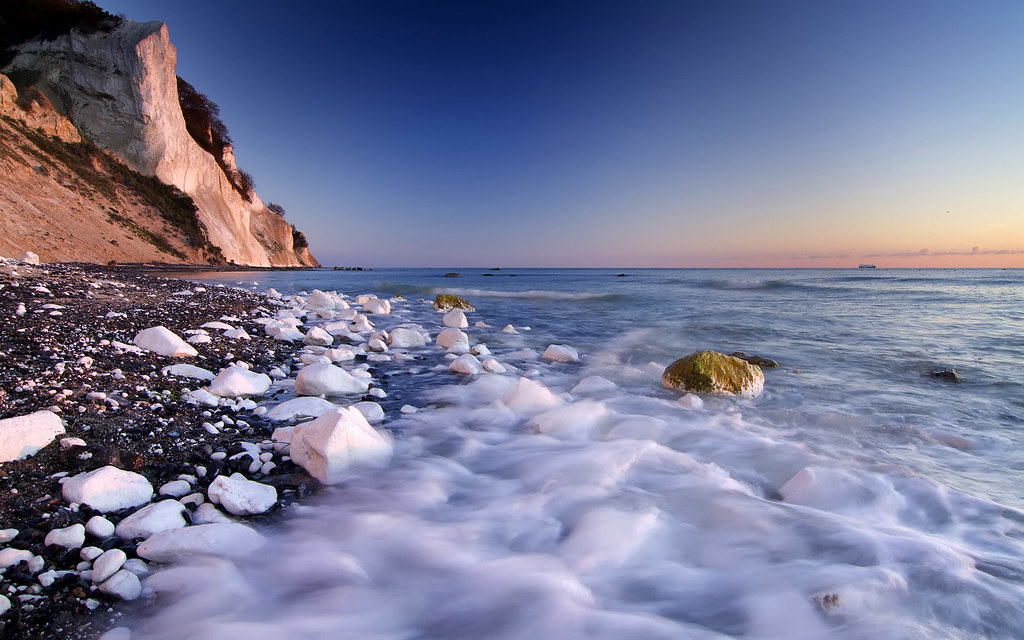 Klint Chalk Møns Klint Chalk Cliffs at