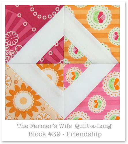 Farmer's Wife Quilt-a-Long - Block 39 | by Happy Zombie