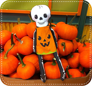 Pumpkin Skellie goes to market! | by happysewlucky