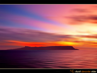 Eigg Evening (Digital Art) by David Alexander Elder | by David Alexander Elder