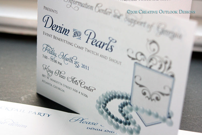 DENIM & PEARLS FUNDRAISER INVITATION | Denim and Pearls 7 ...