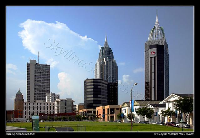 Mobile AL Skyline Flickr Photo Sharing