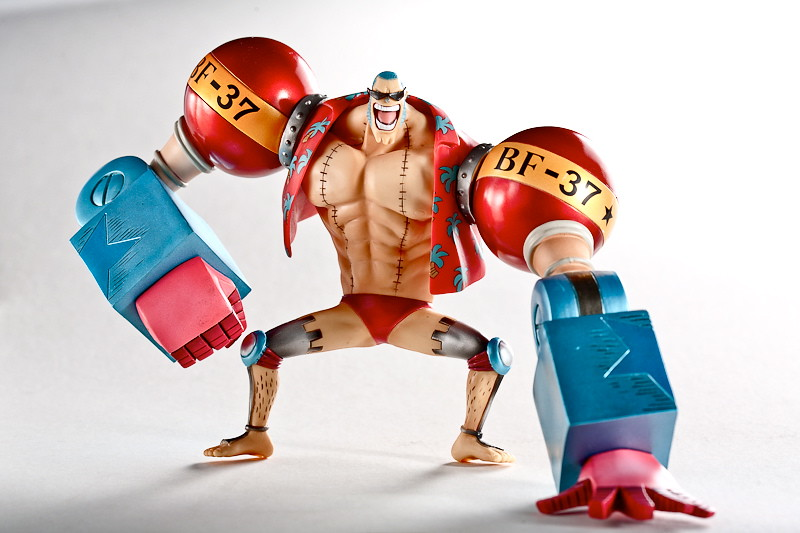 one piece action figure after 2 years franky ti ming