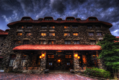 The Entrance ~ Grove Park Inn | by The Exposed Present