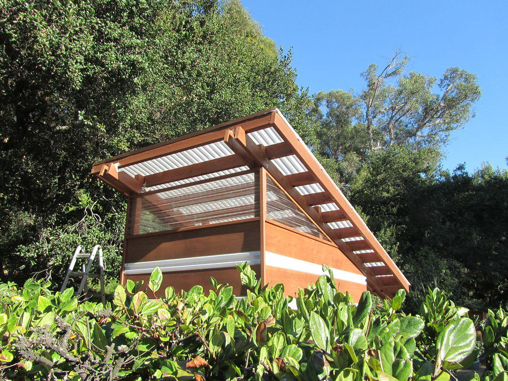 Occidental College Solar Shed | Shed as seen from outside ...