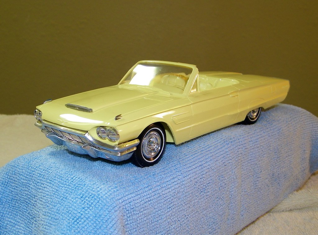 1965 Ford Thunderbird Convertible Promo Model Car | These ar… | Flickr