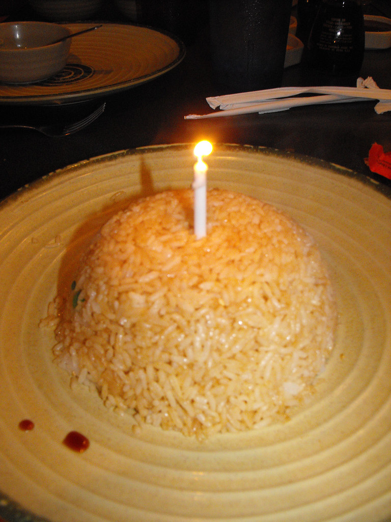 Rice Birthday Cake Rice Cake Coley Flickr
