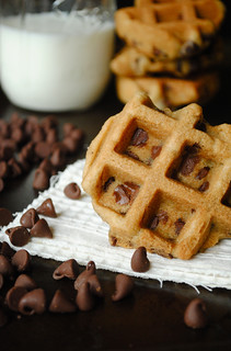 Chocolate Chip Waffle Cookies | by How To: Simplify