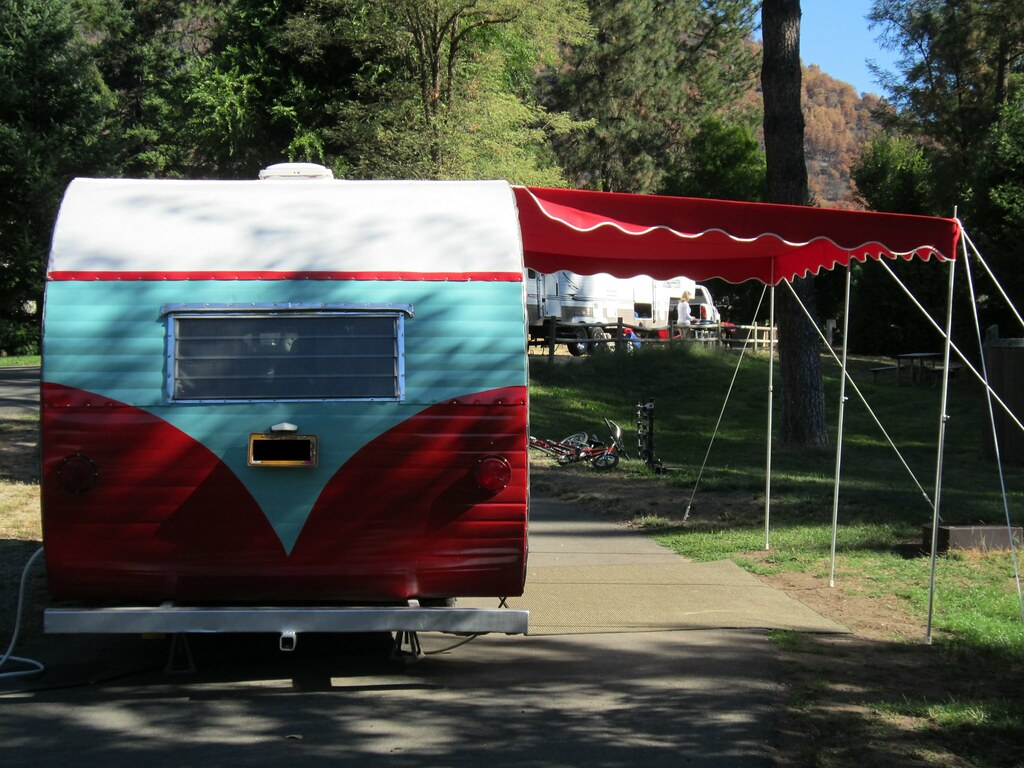 1964 Yellowstone With Canopy New Awning By Marti S