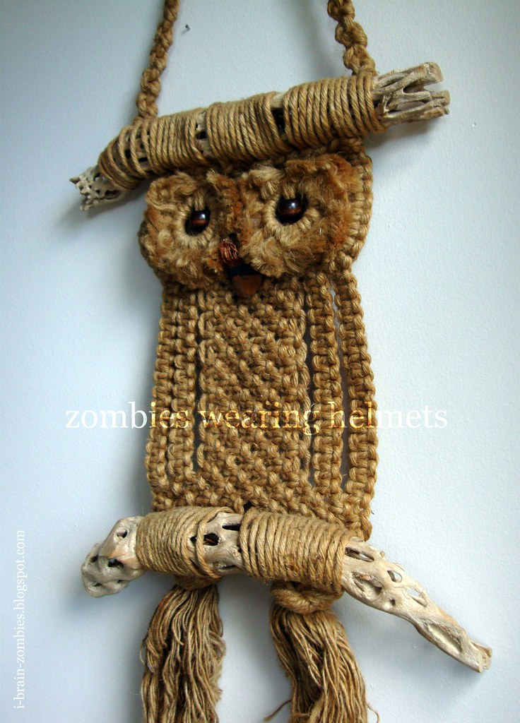 My Macrame Owl Bought From 3montanagirls On Etsy For A